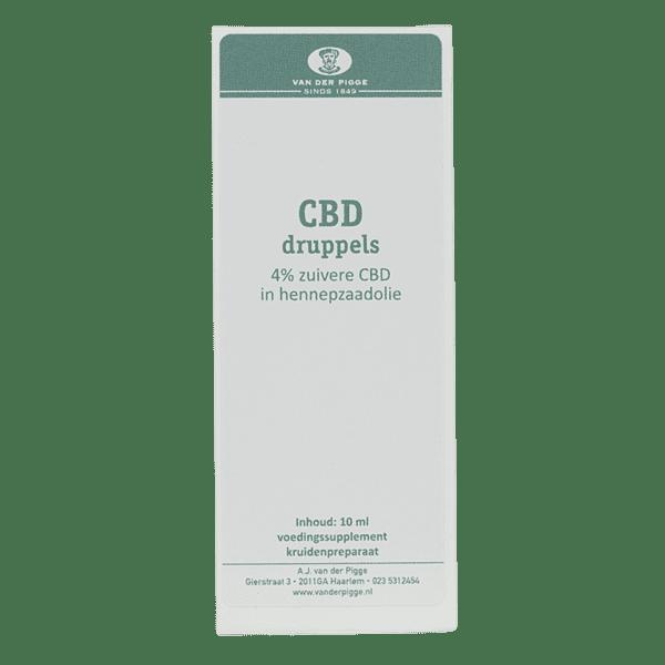 CBD olie doos