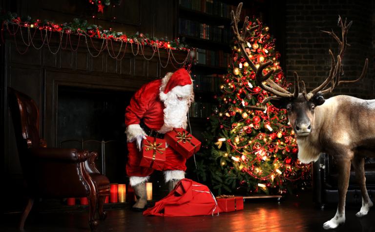 Kerstcadeaus een oude traditie?