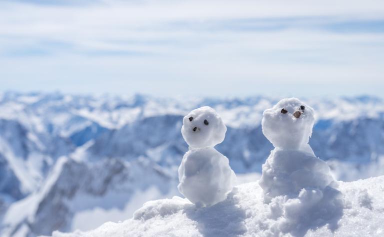 Zonnebescherming tijdens de wintersport