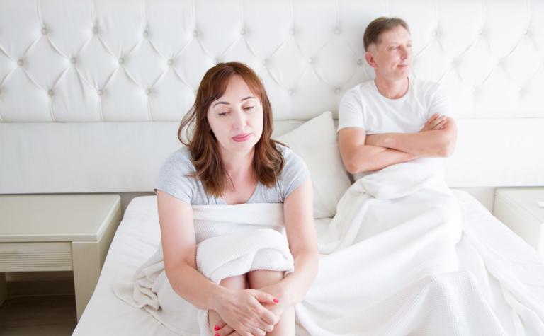 Een onderbelicht perikel na de menopauze
