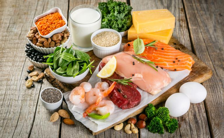 Relatief eiwittekort