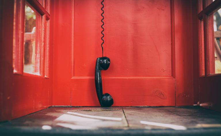 Maandag 11 november om 8.00 uur hebben we even geen telefoon