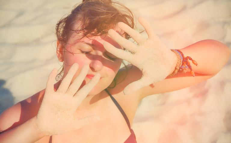 Zonneallergie, oftewel Polymorfe lichteruptie (PMLE)
