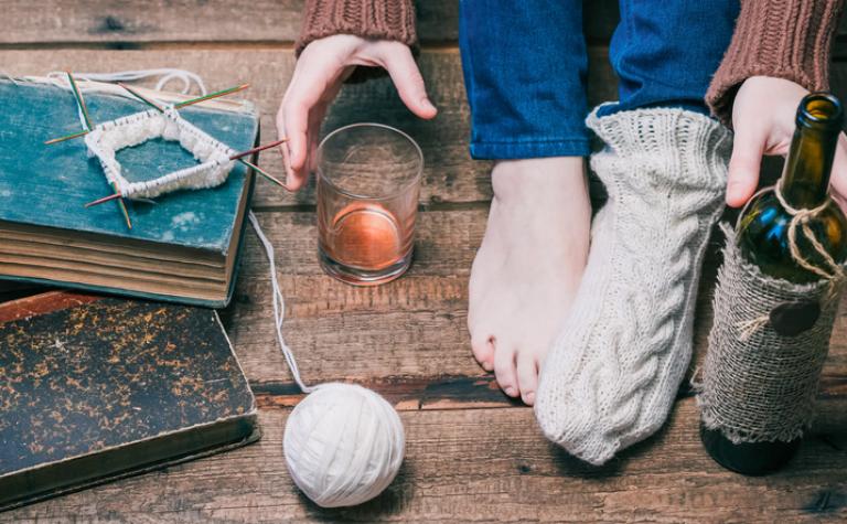 Winterhanden en -voeten